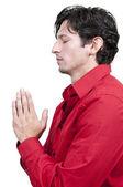 祈祷的人 — 图库照片