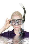 Snorkling — Stock Photo