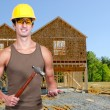 Stock Photo: Man Construction Worker