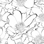 Monochrome seamless pattern — Stock Vector #12017209