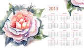 Calendar for 2013 — Stock Photo