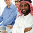 Multicultural young business team — Stock Photo #11689227