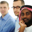 Multicultural young business team — Stock Photo #11689235