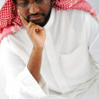 Arabic man thinking — Stock Photo #11689609