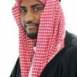 Portrait of an arab man, Sheikh — Stock Photo