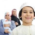 Happy Muslim family — Stock Photo #11689938