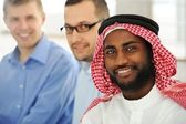 Multicultural young business team — Stock Photo