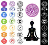 Seven chakras — Photo
