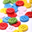 Many colorful buttons — Stock Photo