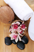 Different spa items — Stock Photo