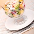 Fruit salad with yoghurt — Stock Photo #11120653