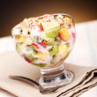 Fruit salad with yoghurt — Stock Photo #11120675