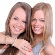 Two beautiful sisters — Foto Stock