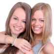 Two beautiful sisters — Stockfoto