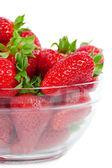 在一盘草莓 — 图库照片