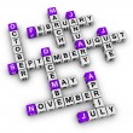 Постер, плакат: All months of the year