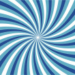 Royalty-Free Stock Photo: Blue vortex with outline