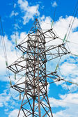 Electrical powerlines — Stock Photo