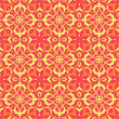 Pattern wallpaper vector seamless background - Imagens vectoriais em stock