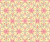 复古花纹壁纸矢量无缝背景 — 图库矢量图片