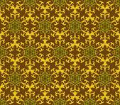 Vintage Muster Tapete Vektor nahtlose Hintergrund — Stockvektor