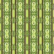 Vintage pattern wallpaper vector seamless background - Imagens vectoriais em stock