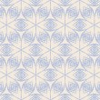 Vintage pattern wallpaper vector seamless background — Stock Vector