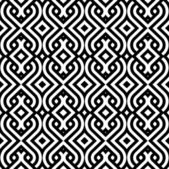 Vintage pattern wallpaper vector seamless background — Vettoriale Stock