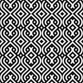 Vintage wallpaper vector inconsútil de fondo — Vector de stock