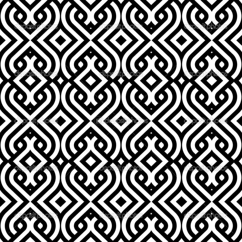 Vintage pattern wallpaper vector seamless background — Stock ...