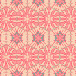 Vintage pattern wallpaper vector seamless background - Stock Vector