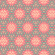 Vintage pattern wallpaper vector seamless background — Stock Vector #12202710