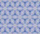 Winter vintage pattern wallpaper vector seamless background — Stock Vector