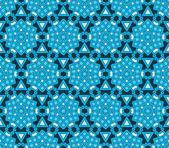 Vintage winter wallpaper pattern seamless background. Vector. — Stock Vector