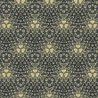 Vintage wallpaper pattern seamless background. Vector. - Imagens vectoriais em stock