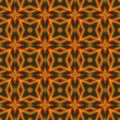 Vintage wallpaper pattern seamless background. Vector. - Stok Vektr
