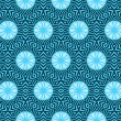 Winter wallpaper pattern seamless background. Vector. — Stockvektor