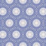 Vintage wallpaper pattern seamless background. Vector. — Stock Vector