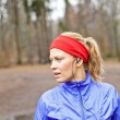 Stock Photo: Woman runner