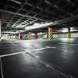 Parking garage underground interior — Foto Stock #11401552
