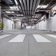 Concrete underground road — Stock Photo
