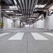 Stock Photo: Concrete underground road