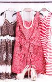 Sexy oblečení, obuv a módní doplňky — Stock fotografie