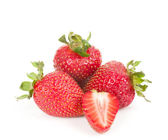 Red fresh strawberry — Stock Photo