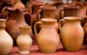 Clay pots — 图库照片
