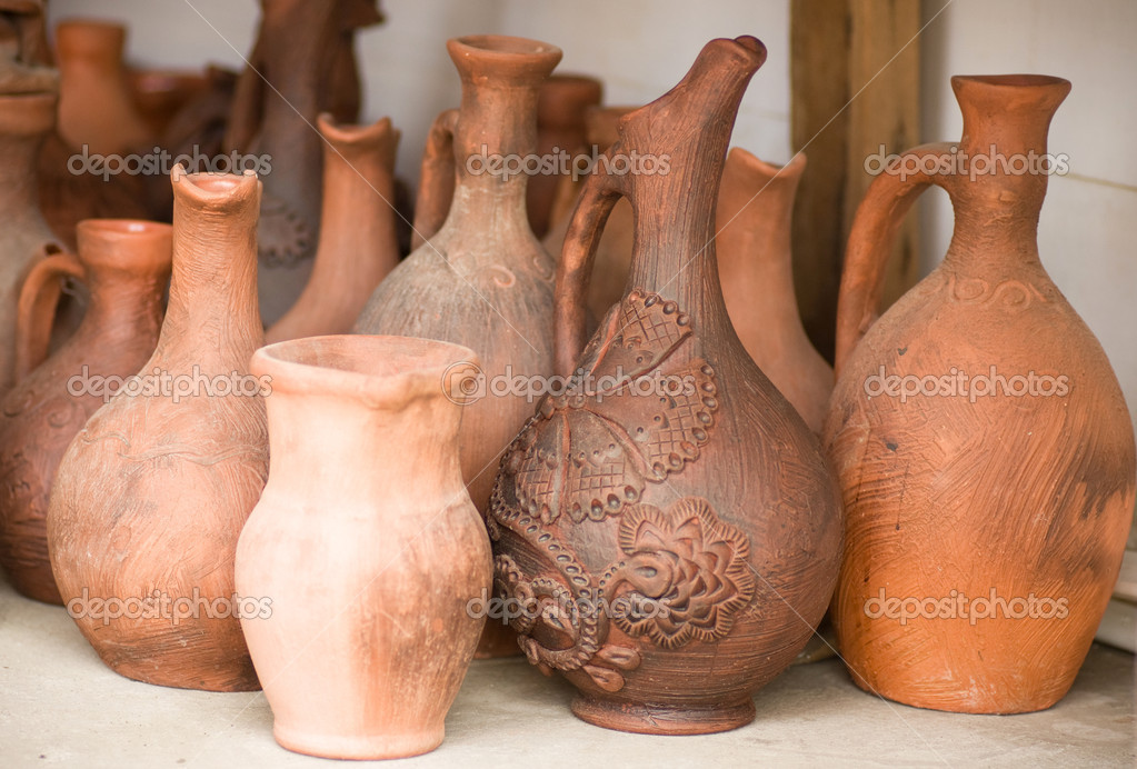 Clay pots — Stock Photo #11326646