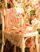 Calzado y vestido elegante de la vendimia — Foto de Stock