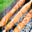 Grilles meat kebab — Stock Photo