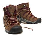 трекинг обувь — Стоковое фото