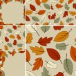 Autumn Vector Set - Stock Vector